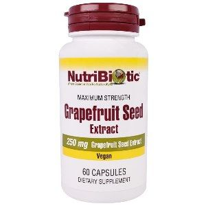 GSE Grapefruit Seed Extract (250 mg) (60 VCaps) NutriBiotic